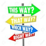 29799253-Auf-diese-Weise-das-Weise-Which-Way-richtige-Weg-W-rter-in-einer-Frage-auf-den-Pfeil-Verkehrszeichen-Stockfoto