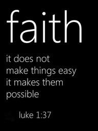 faith possible