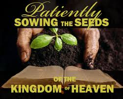sowing seeds for heaven