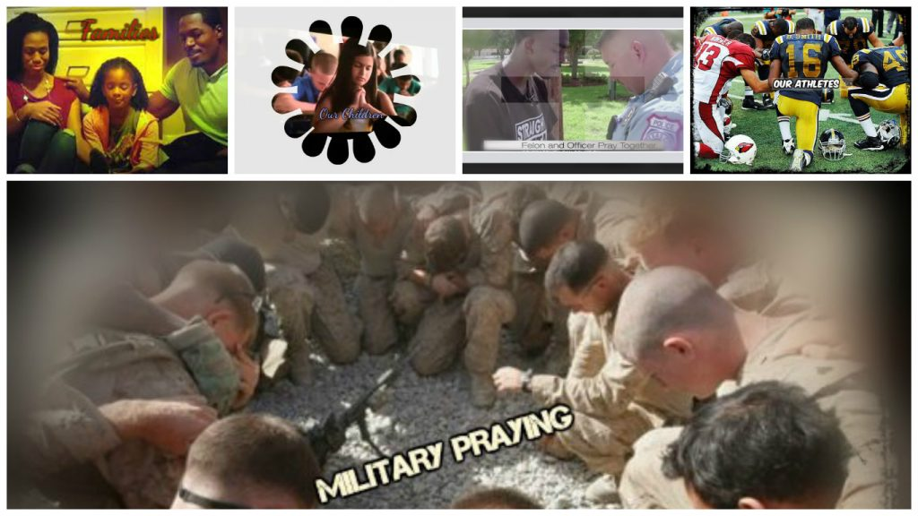 praying-collage
